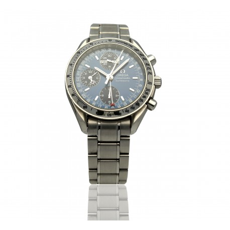 Omega Speedmaster Automatic Day Date Blue Dial