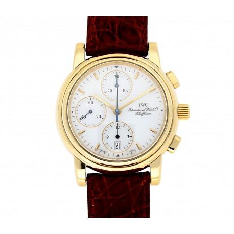 IWC Schaffhausen Portofino Chronograph Chronometer Gold 18 Karat.