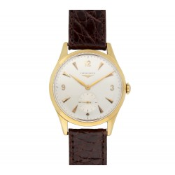 Longines Vintage Sub Second Gold 18 Karat