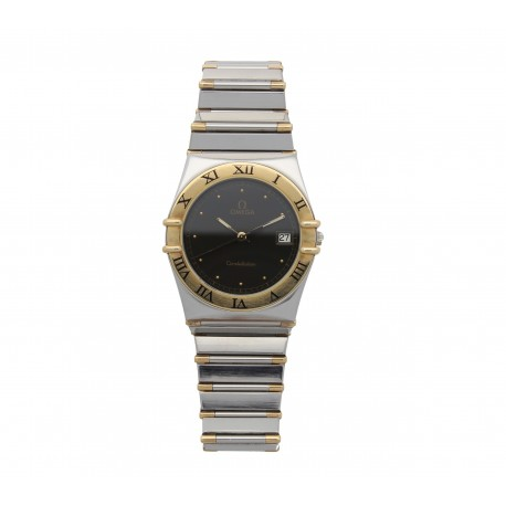 Omega Constellation Steel/Gold Date
