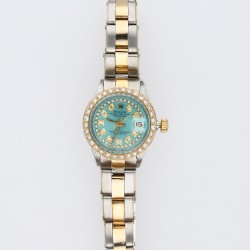 Rolex Lady-Datejust Blue Diamond Dial