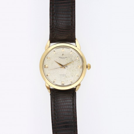 Breitling vintage gold