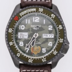 Seiko 5 Sports Street Fighter Limited Edition Guile